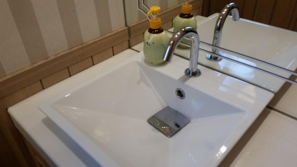 ポムポム洗面台