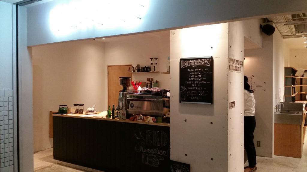 BUKATSUDOのカフェ