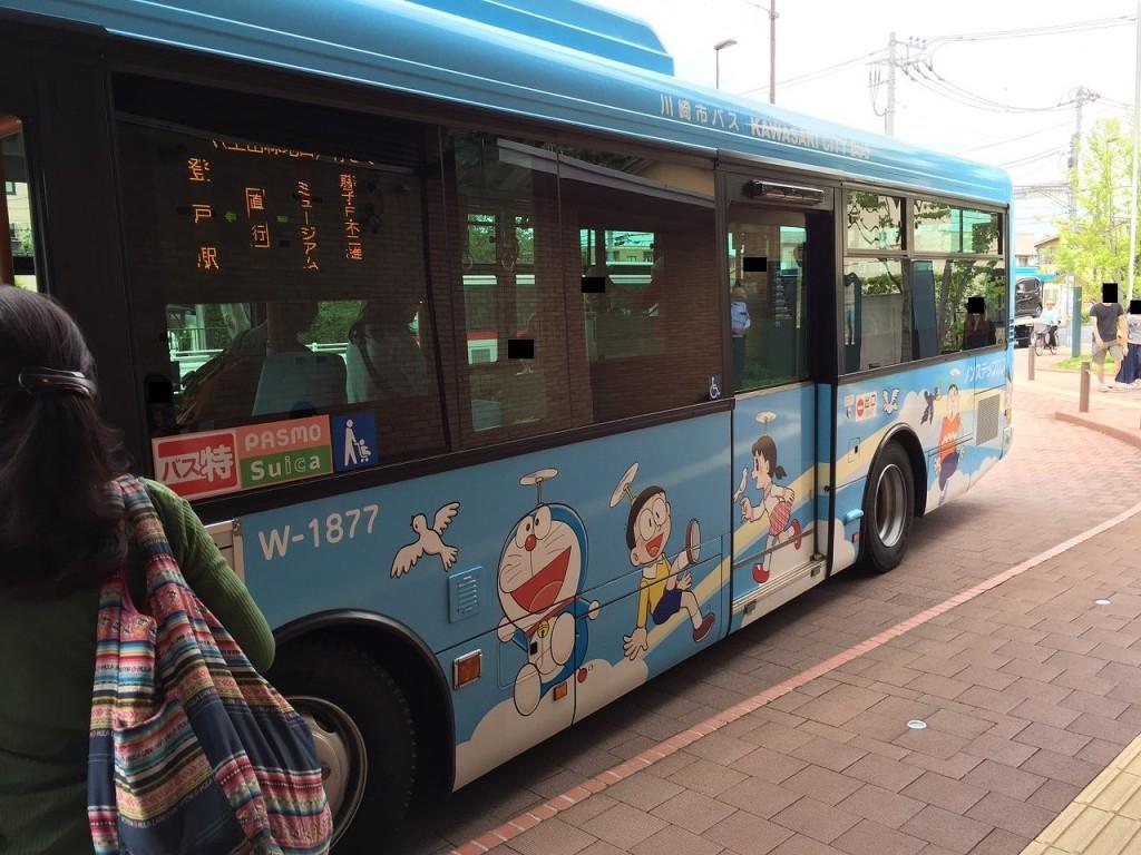 ドラえもんミュージアムバス