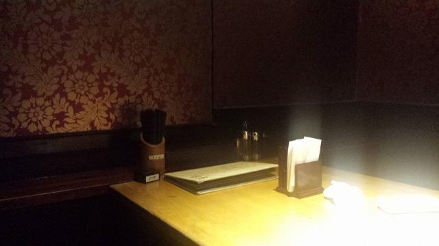 新宿本店竹虎の個室