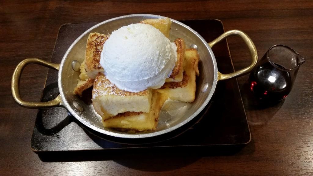 甘いフレンチトースト