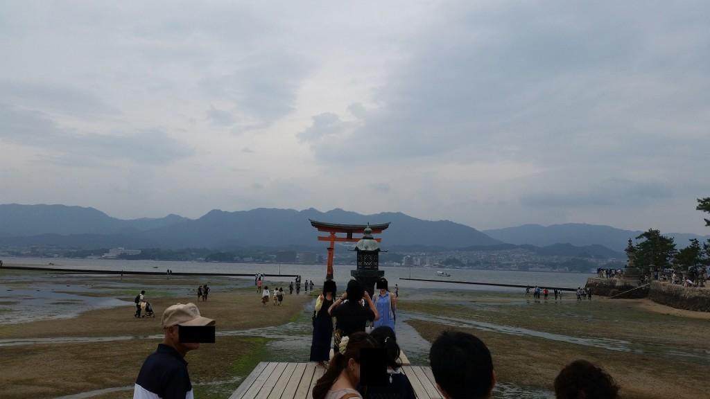 宮島で一番良い撮影スポット