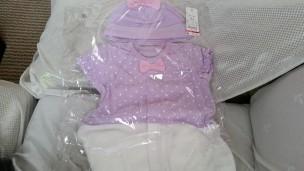 新生児用ベビー服