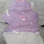 夏生まれの新生児が必要なもの4種類を購入-服編-
