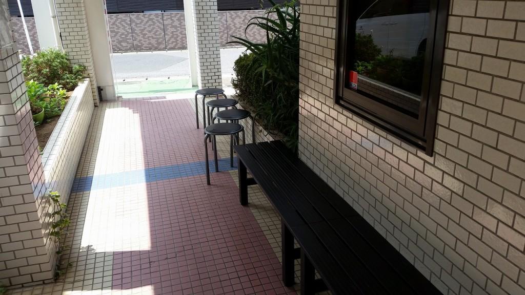 桂花楼の待つスペース