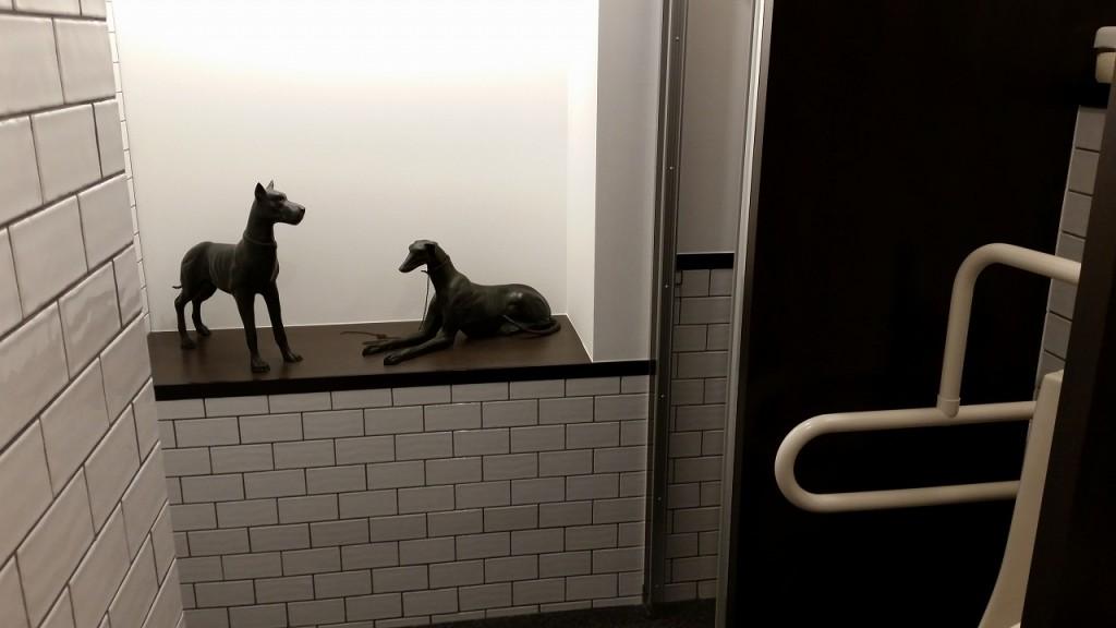 ルノアール横浜駅西口の綺麗なトイレ