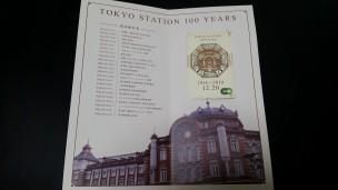 申し込んだ東京駅限定スイカの台紙
