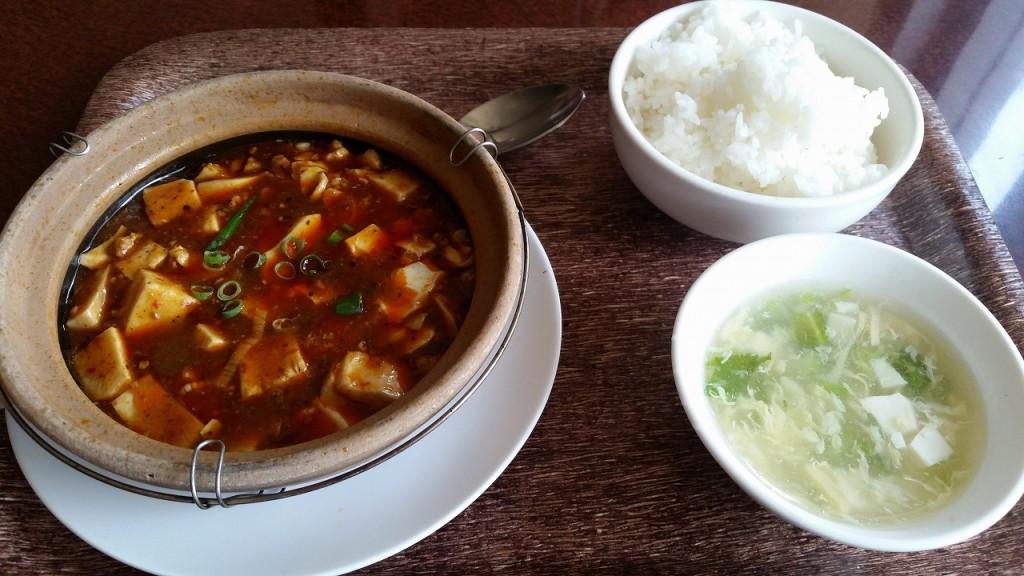 TX麻婆豆腐ランチセット