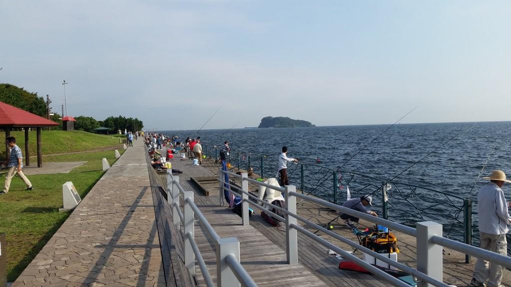横浜海辺のつり公園