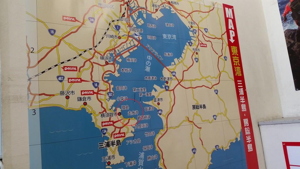 アクセス良く、横須賀で釣りが出来る場所