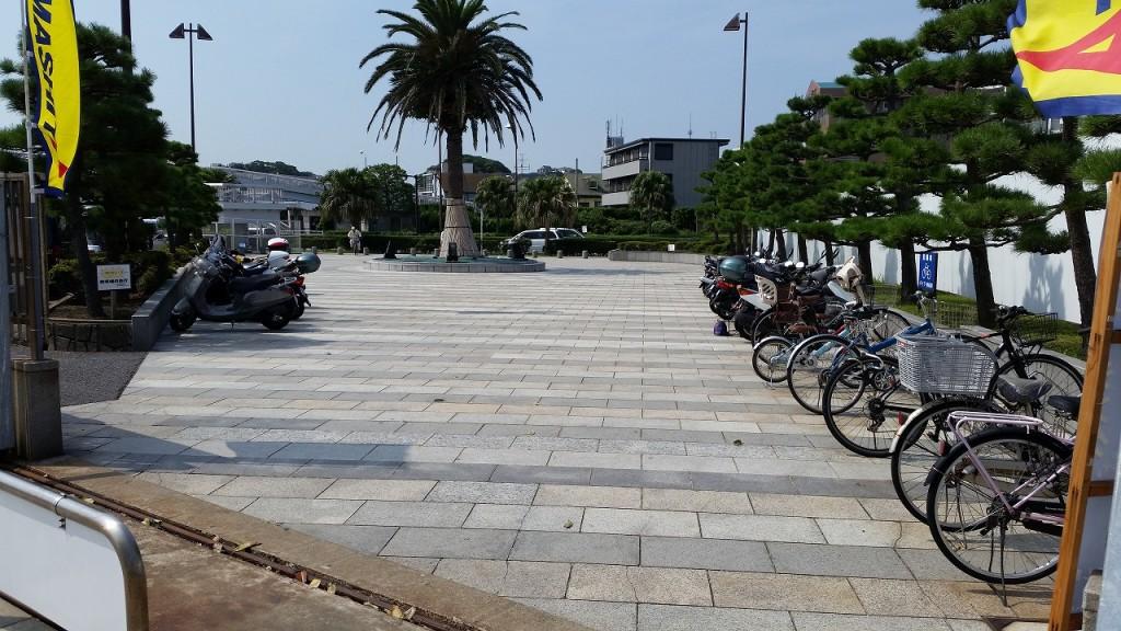 自転車やバイクは料金無料の釣り公園