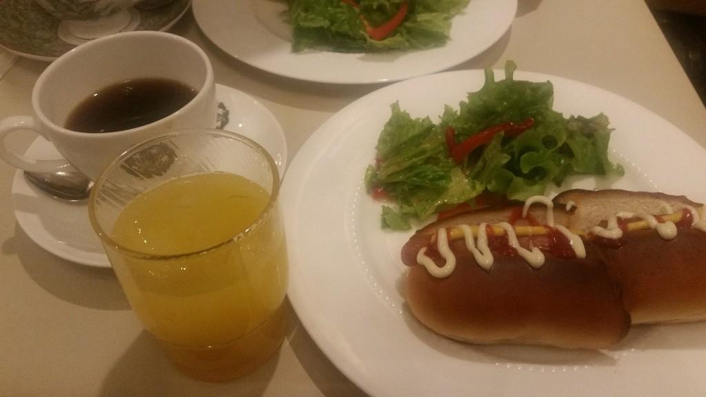 銀座カフェパウリスタのモーニング
