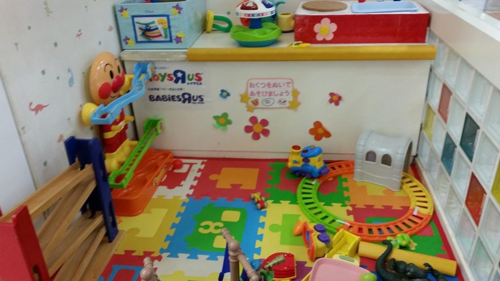 子供美容室のキッズスペース