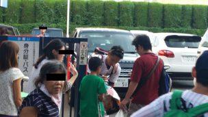 神宮球場でヤクルトの選手にサインを貰うのはココ