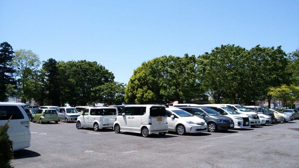 もりの遊園地駐車場