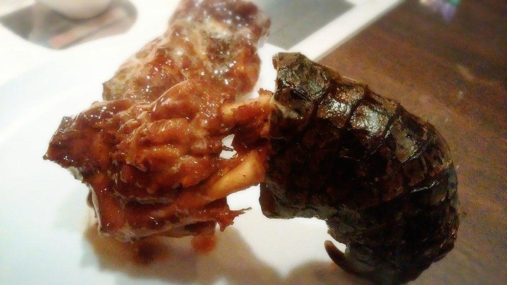 ワニ肉はタンパクで意外と美味しい