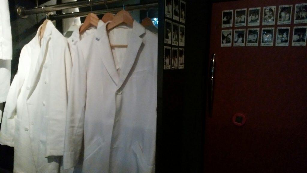 白衣も着れて雰囲気を味わえる