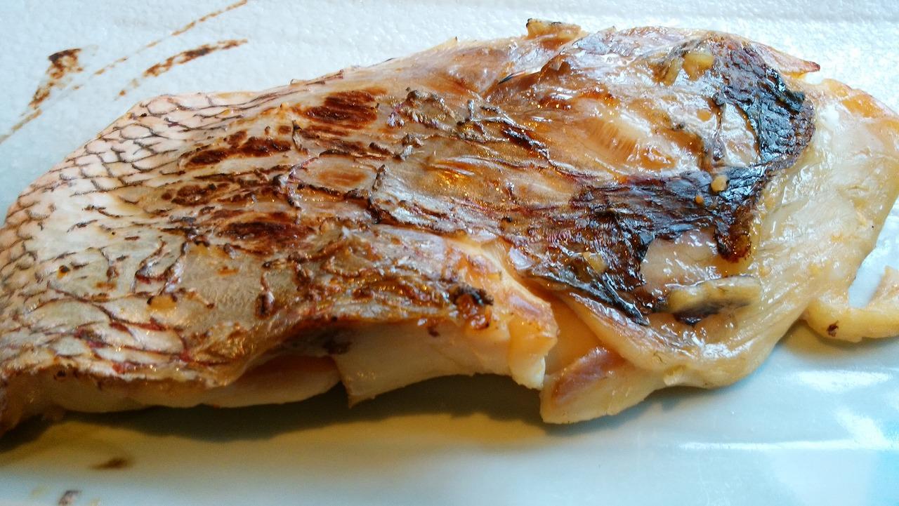六本木の和食「魚可津」の鯛の味噌漬焼き
