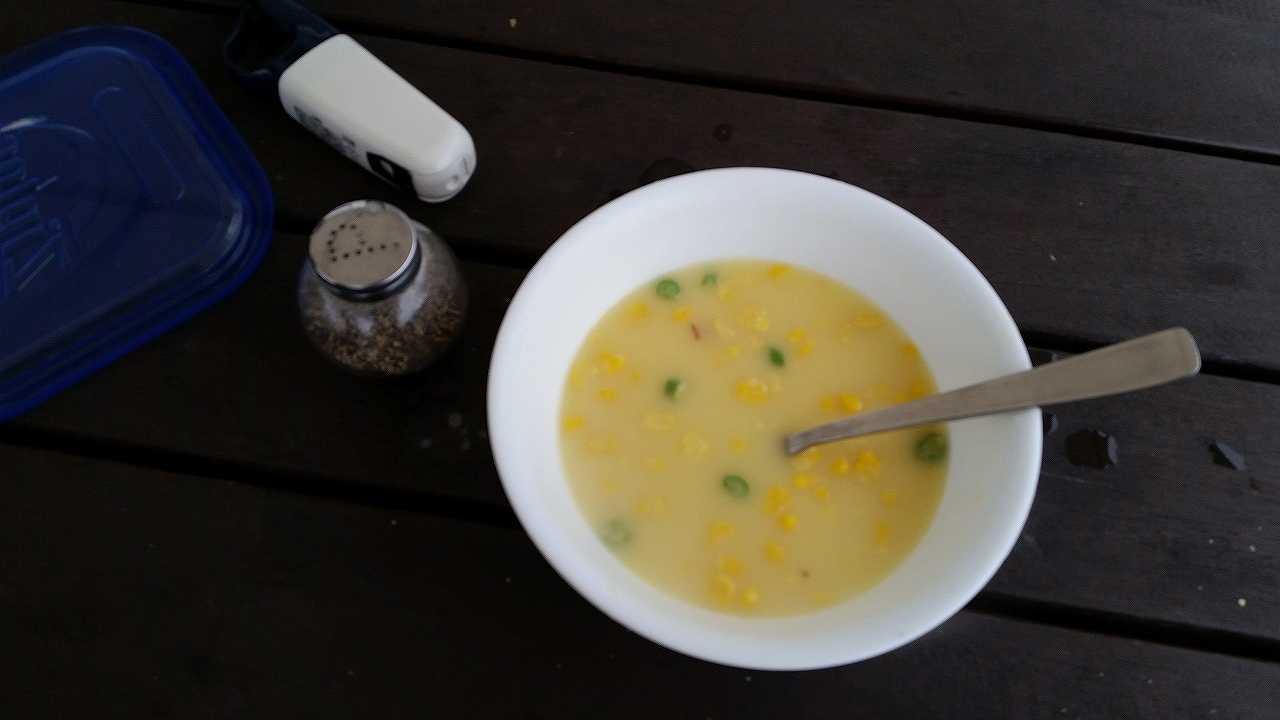 初島グランピングの朝食5