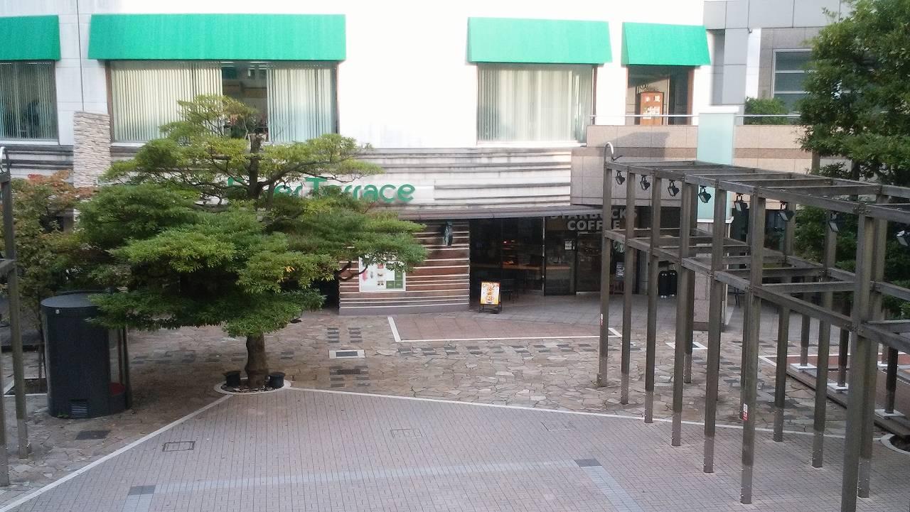 天王洲アイル駅のスタバ