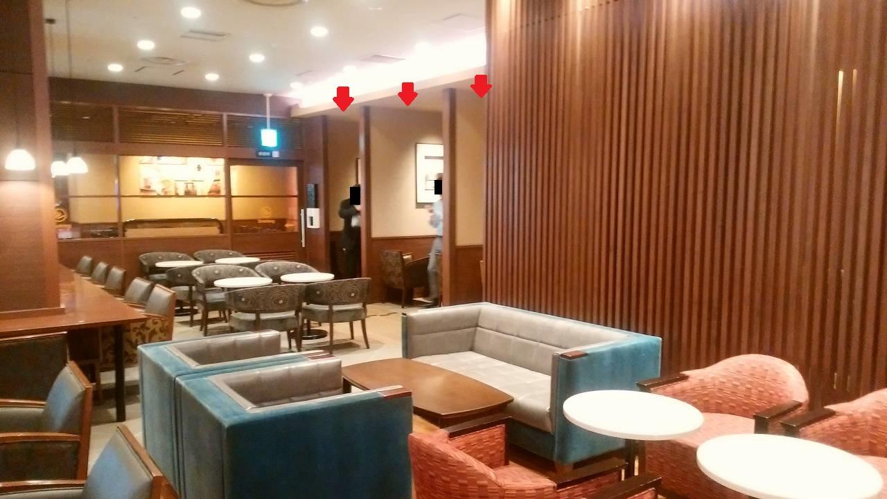 天王洲アイルのサンマルクカフェは個室がたくさん