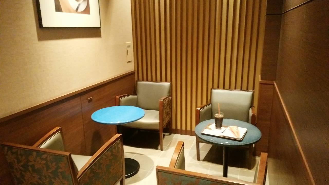 天王洲アイルのサンマルクカフェは個室がある