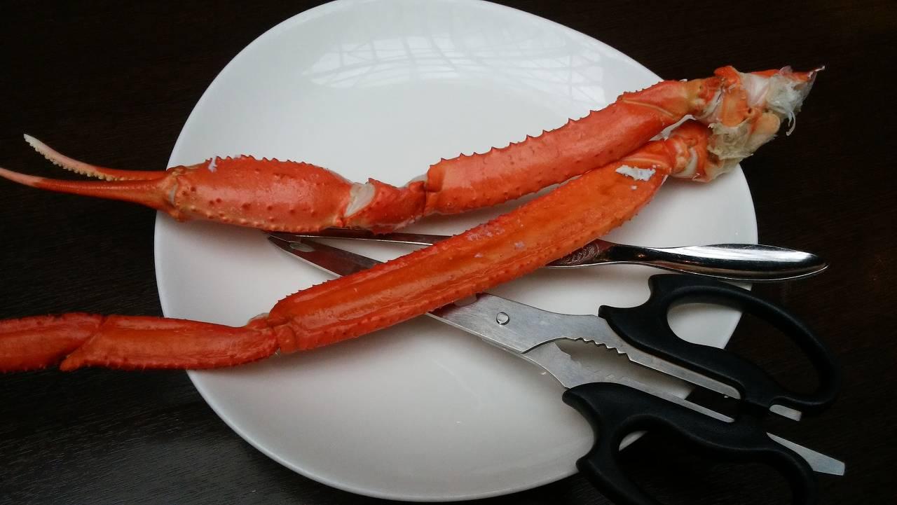 ハプナの紅ずわい蟹を食べてみた