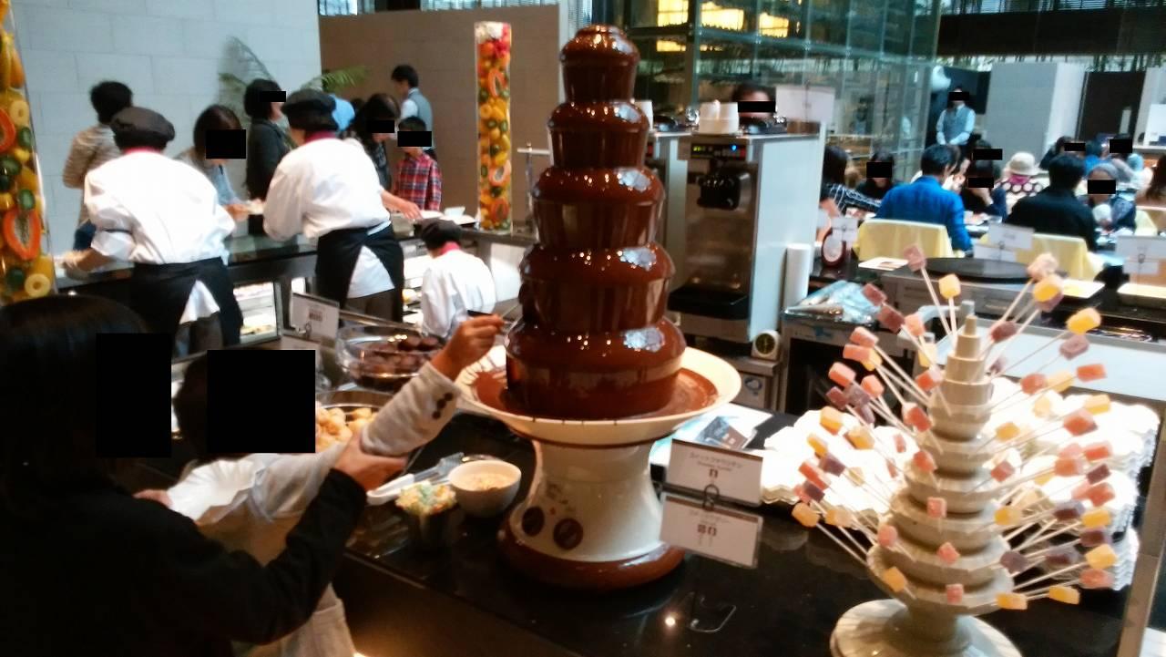 ハプナのチョコレートフォンデュ