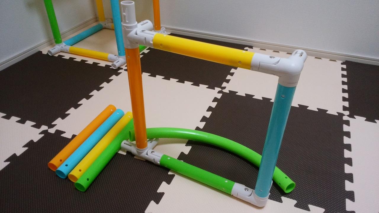 アンパンマン うちの子天才 カンタン折りたたみブランコパークDXの作り方6