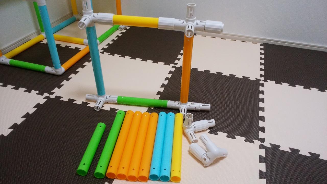 アンパンマン うちの子天才 カンタン折りたたみブランコパークDXの作り方8