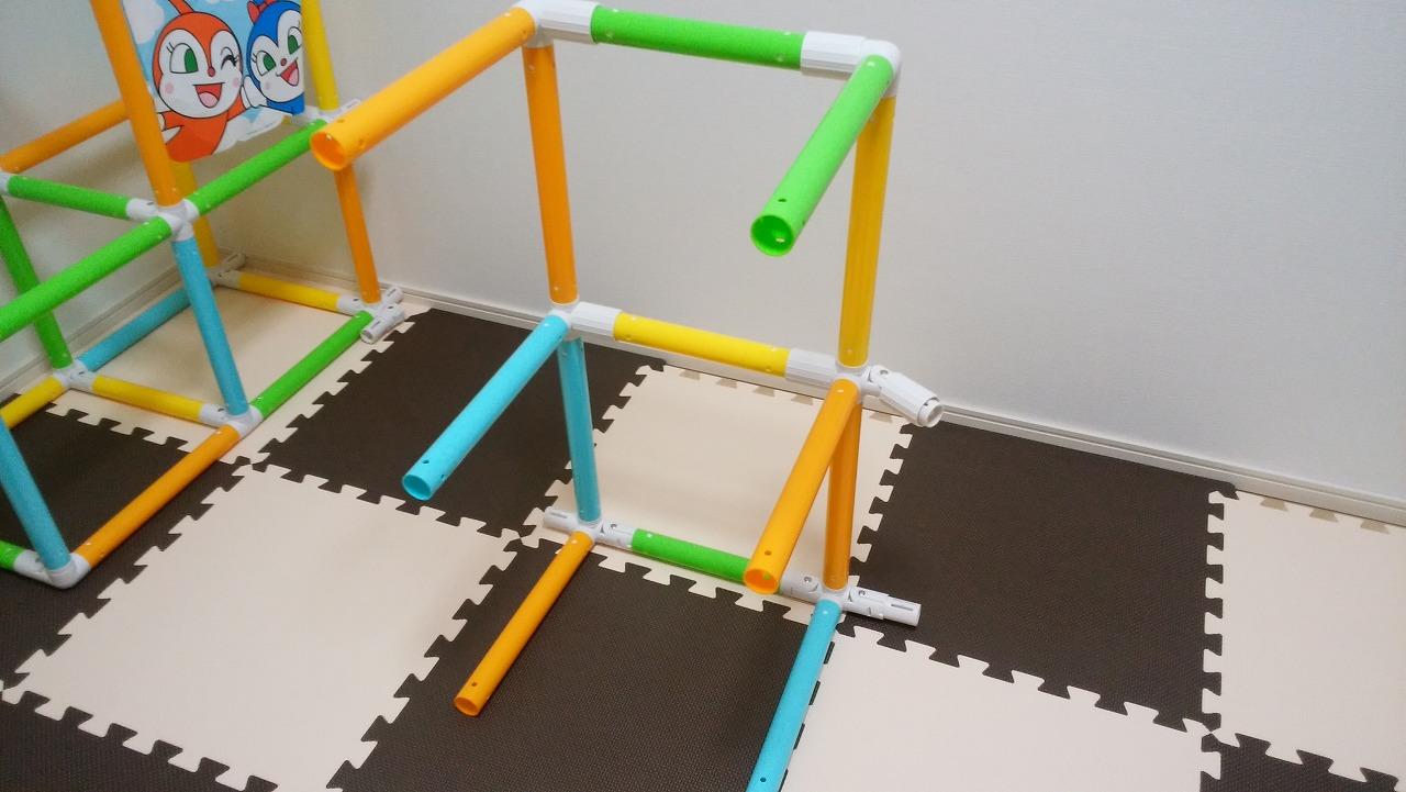 アンパンマン うちの子天才 カンタン折りたたみブランコパークDXの作り方9