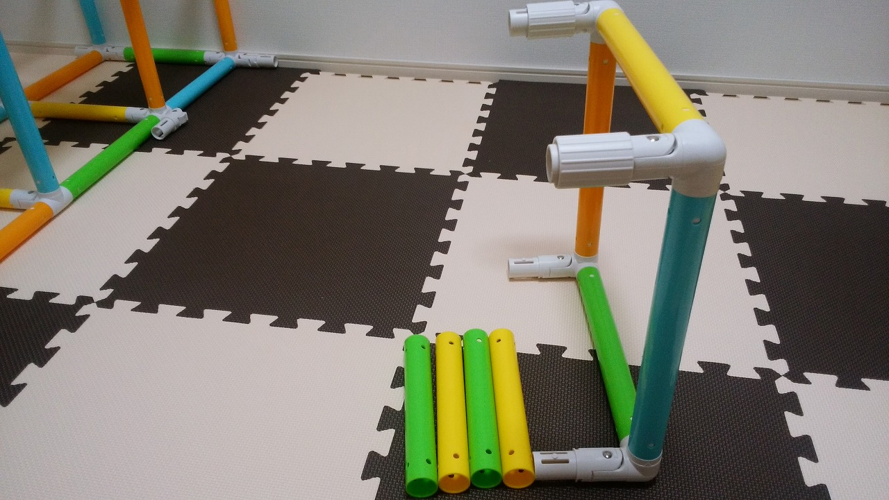アンパンマン うちの子天才 カンタン折りたたみブランコパークDXの作り方11