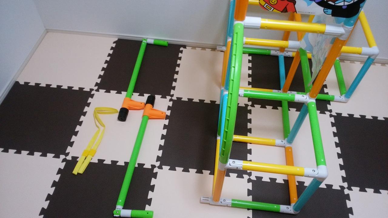 アンパンマン うちの子天才 カンタン折りたたみブランコパークDXの作り方18