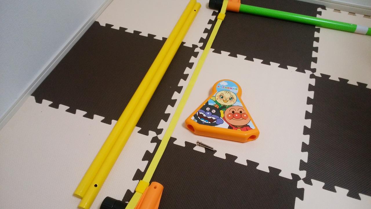 アンパンマン うちの子天才 カンタン折りたたみブランコパークDXの作り方20