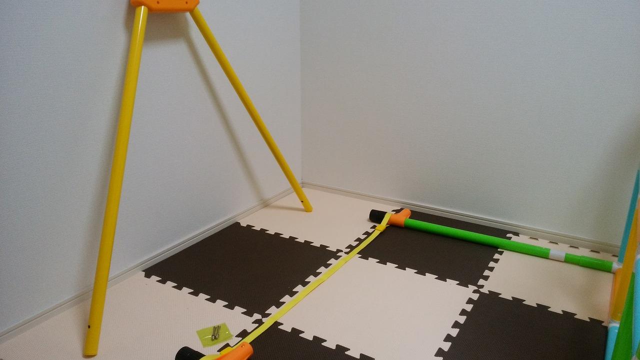 アンパンマン うちの子天才 カンタン折りたたみブランコパークDXの作り方21