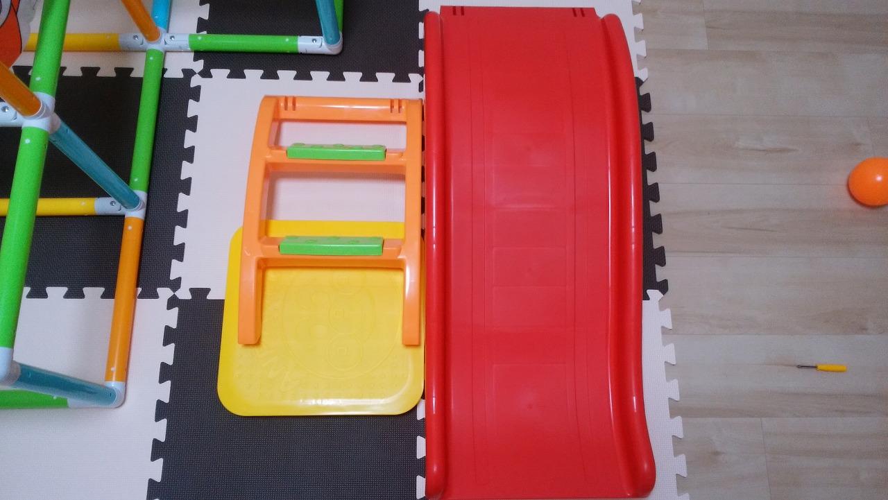 アンパンマン うちの子天才 カンタン折りたたみブランコパークDXの作り方25