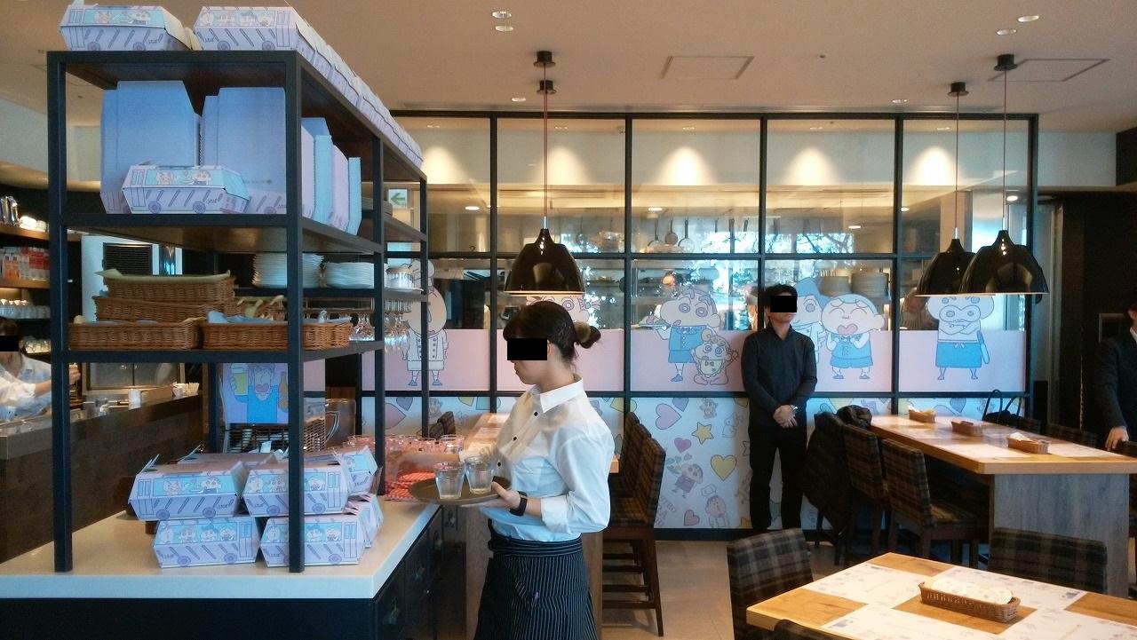 クレヨンしんちゃんレストランの店内2