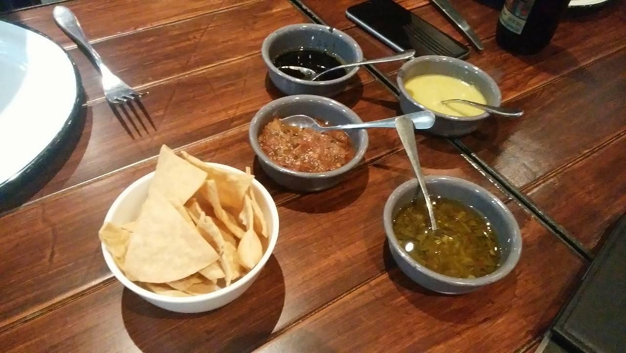 メキシコで食べたナチョス