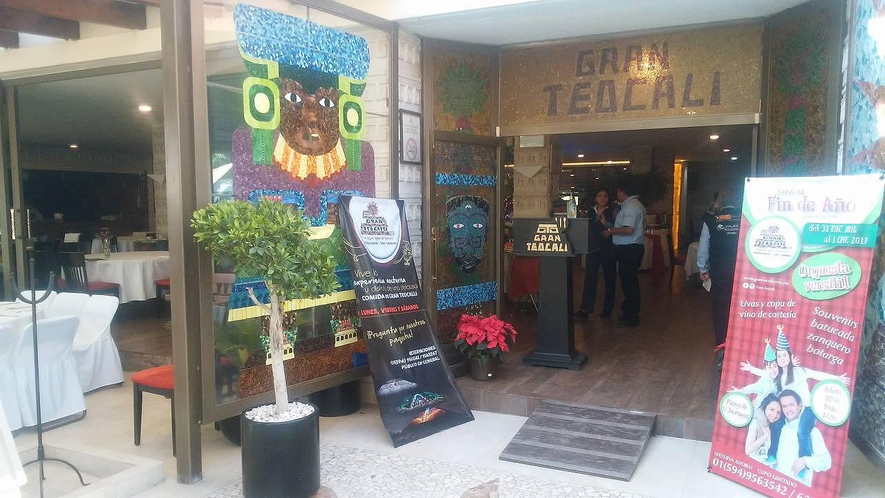 テオティワカン近くのレストラン「GRAN TEOCALI」