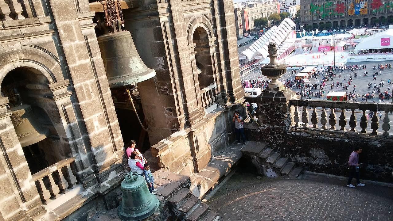 メキシコシティ・メトロポリタン大聖堂を見学4