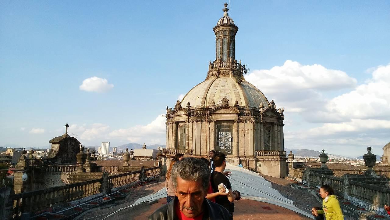 メキシコシティ・メトロポリタン大聖堂を見学2