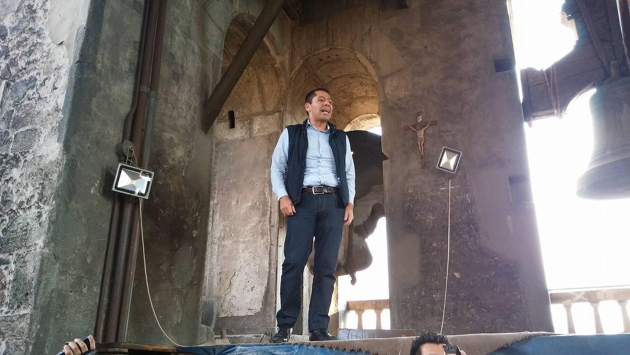 メキシコシティ・メトロポリタン大聖堂を見学1