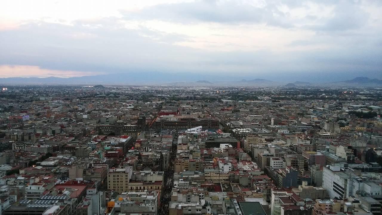 ラテンアメリカタワーからの景色1