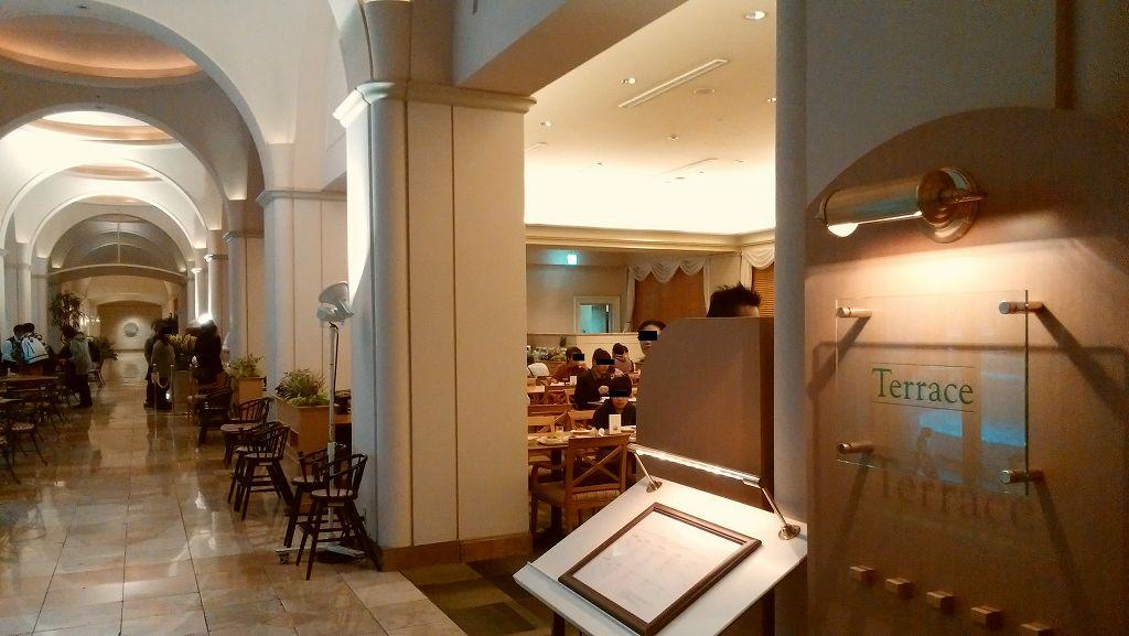 ホテルオークラ東京ベイの朝食会場「テラス」