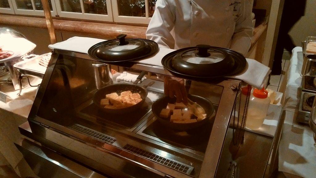ホテルオークラ東京ベイの手作りフレンチトースト