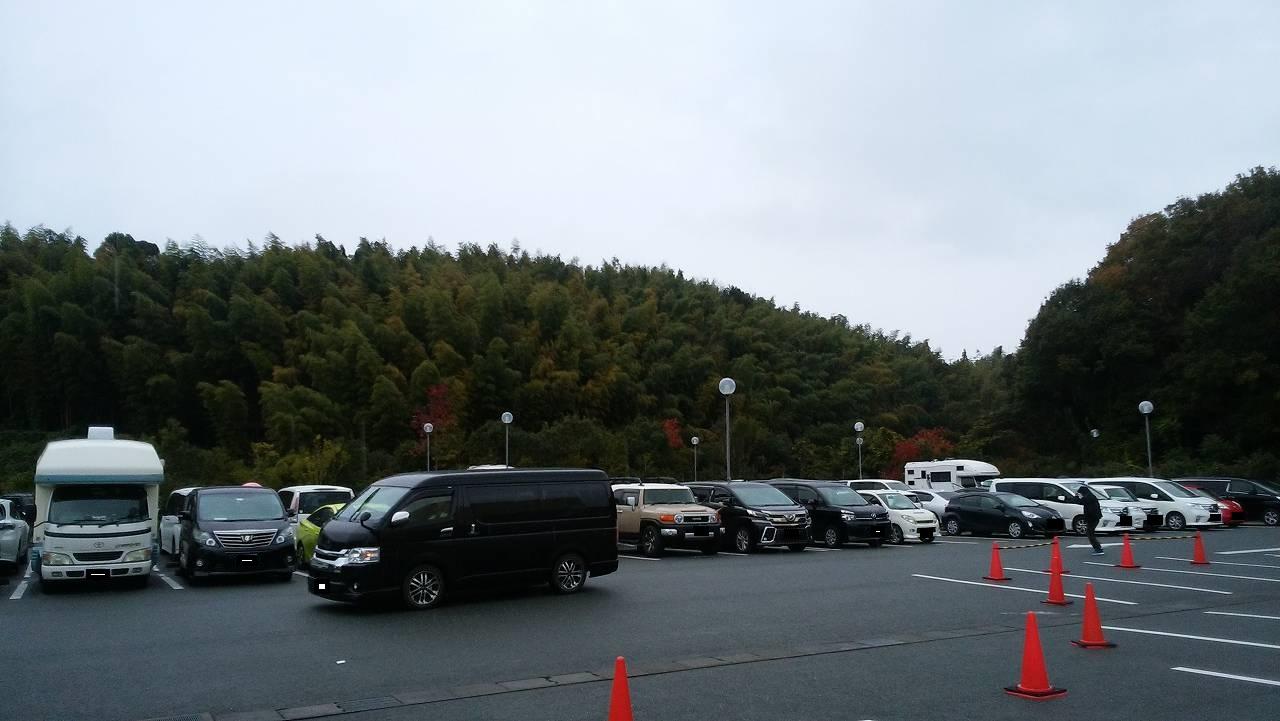 うなぎパイファクトリーの駐車場