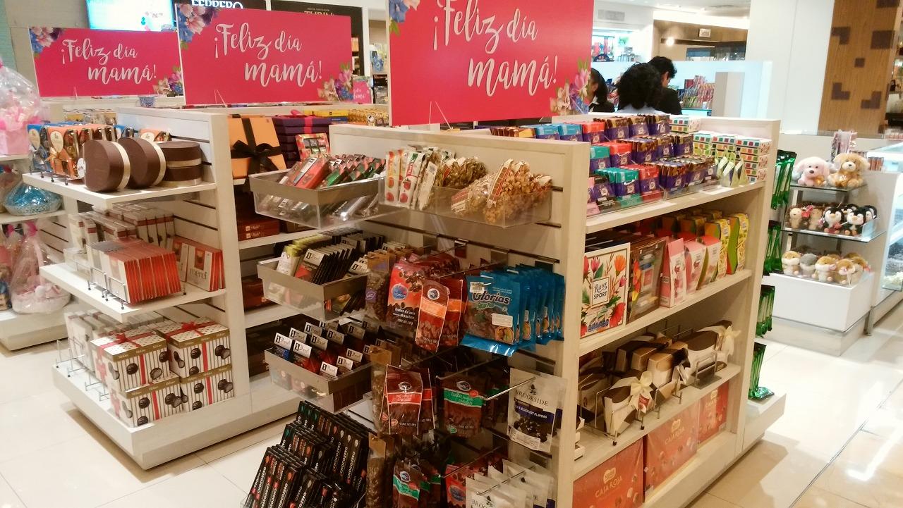 Liverplloメキシコのチョコレート販売