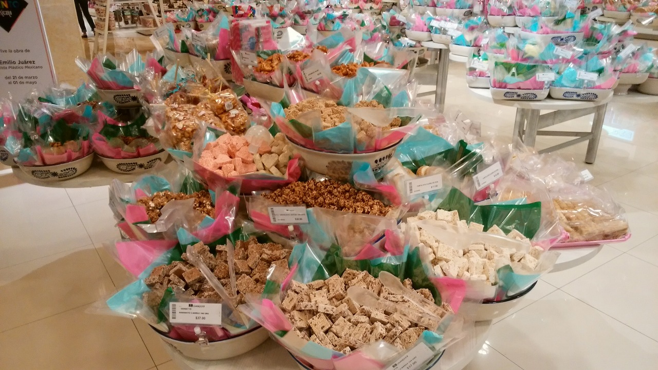 Liverplloメキシコのお菓子量り売り