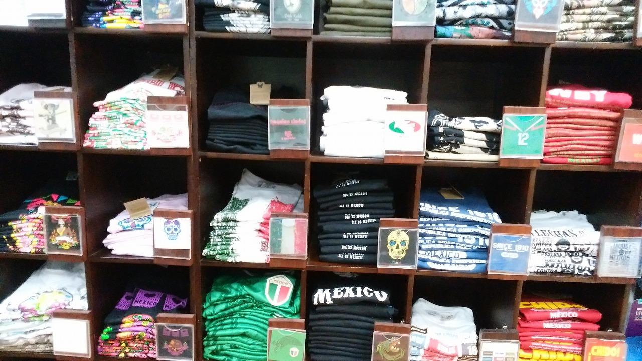 メキシコのお土産にTシャツ