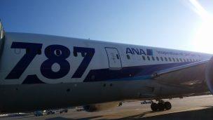 メキシコシティ便ANAボーイング787